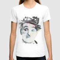 chaplin T-shirts featuring Chaplin by Marian - Claudiu Bortan