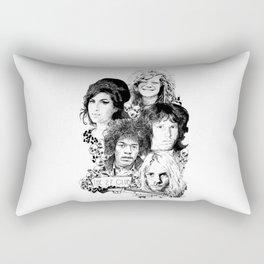 The 27 Club Rectangular Pillow