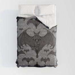 Balinese Bat - Haunted Mansion Damask Comforters