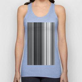 Black White Gray Thin Stripes Unisex Tank Top