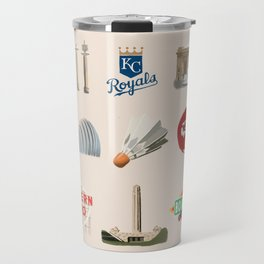 Kansas City, Missouri Travel Mug