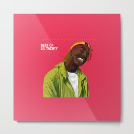 Best Of Lil Yatchy Metal Print