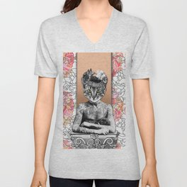 CAT WOMAN Unisex V-Neck