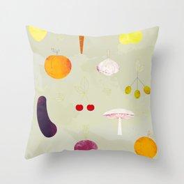 Fruit Medley Throw Pillow