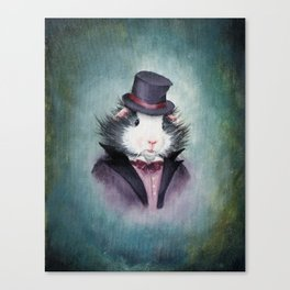 Cheswick Tiddlywink the Victorian Guinea Pig Canvas Print