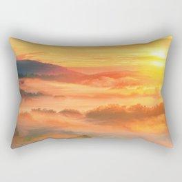 Sunset before Rectangular Pillow