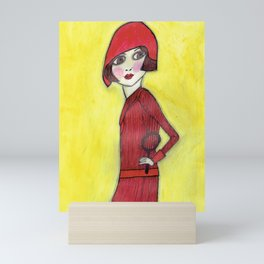 Lady Detective Mini Art Print