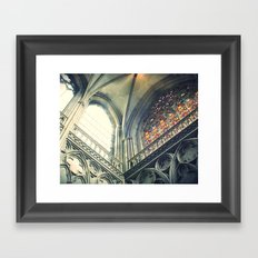 All the colors Framed Art Print