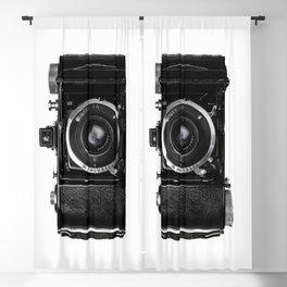 Old Retro Camera Blackout Curtain