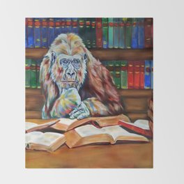 Ishmael- homage to Daniel Quinn Throw Blanket