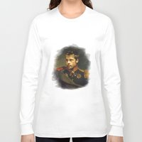 replaceface Long Sleeve T-shirts featuring Brad Pitt - replaceface by replaceface