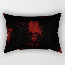 Blood Rectangular Pillow
