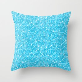 Ab Fan Electric Repeat Throw Pillow