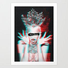The Supreme (Bow Down) Art Print