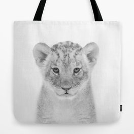 Baby Lion Tote Bag