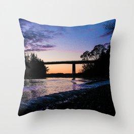 purple dreams Throw Pillow