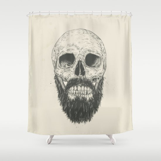 The beard is not dead Shower Curtain