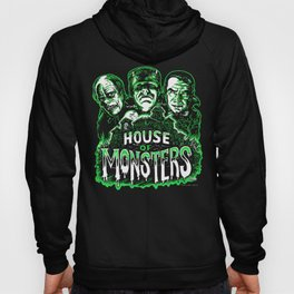 House of Monsters Phantom Frankenstein Dracula classic horror Hoody