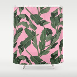 Tropical '17 - Forest [Banana Leaves] Shower Curtain