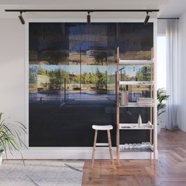 New Area in Morning Light Wall Mural