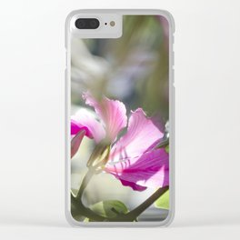 Translucid Turmoil Clear iPhone Case