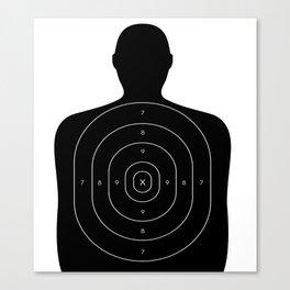 Practice Target Design Canvas Print