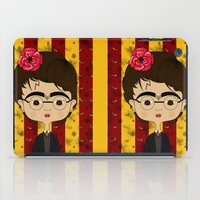 potter iPad Cases featuring Frida Potter by Camila Oliveira