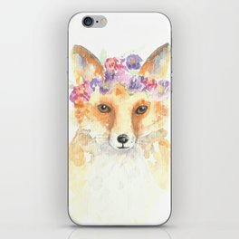 Miss Foxie iPhone Skin