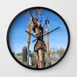 Desert Fashionista Wall Clock