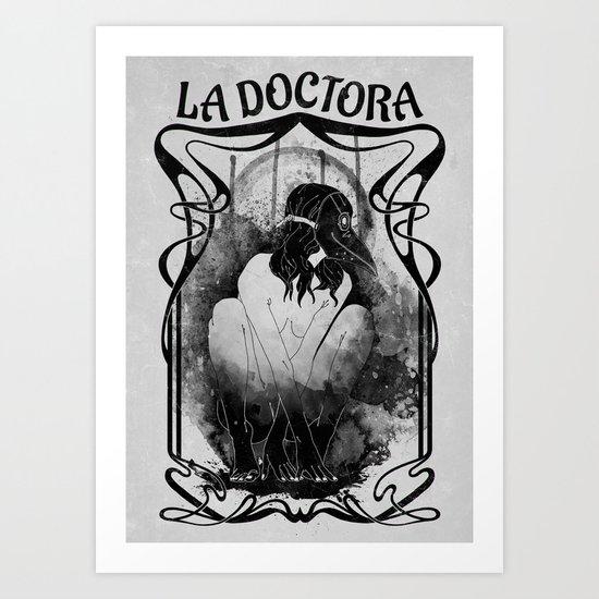 Dottore de La Peste Art Print