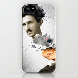 electricity and mind iPhone Case