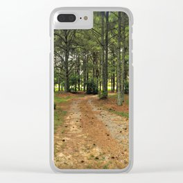 Right Neck of The Woods Clear iPhone Case