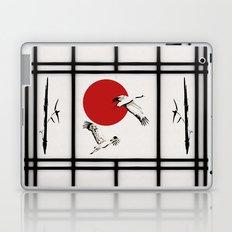 Shoji - flying cranes Laptop & iPad Skin