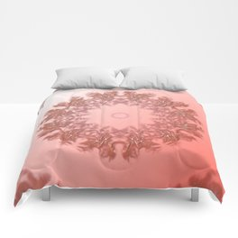Enamored laced illusion Comforters