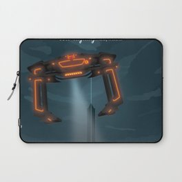 The Grid (Tron: Legacy) Travel Poster Laptop Sleeve
