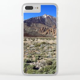 El Teide Clear iPhone Case