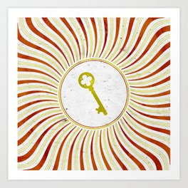 Phantom Keys Series - 10 Art Print