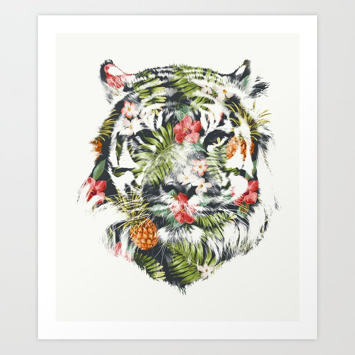 Discover the motif TROPICAL TIGER by Robert Farkas as a print at TOPPOSTER