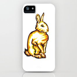 Angry Bunny iPhone Case