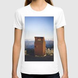 Miles high trash can T-shirt