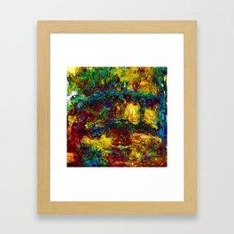 Claude Monet Japanese Footbridge Framed Art Print