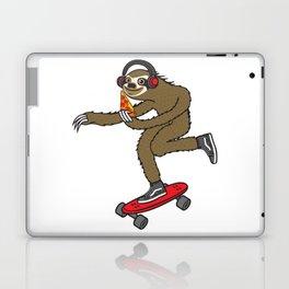 Skater Sloth Pizza Laptop & iPad Skin