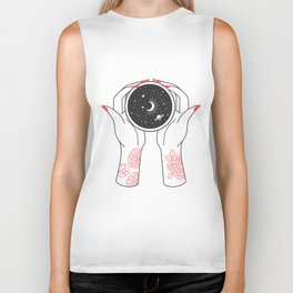 Space Coffee Biker Tank