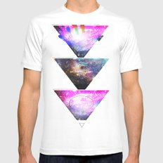 We Are All Stars White MEDIUM Mens Fitted Tee