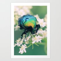bug Art Prints featuring Bug by Falko Follert Art-FF77