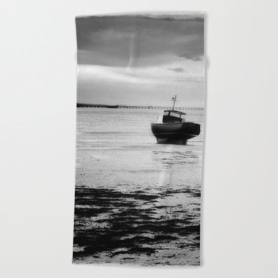 Lonely Beach Towel
