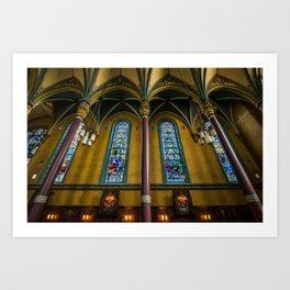 Cathedral Of The Madeleine - Utah Art Print