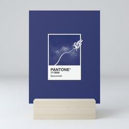 Pantone Series – Spacewalk Mini Art Print