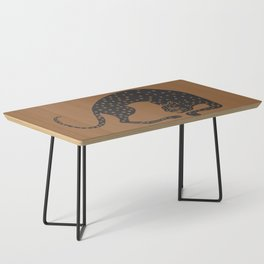 Blockprint Cheetah Coffee Table
