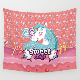 SWEET LIFE Wall Tapestry
